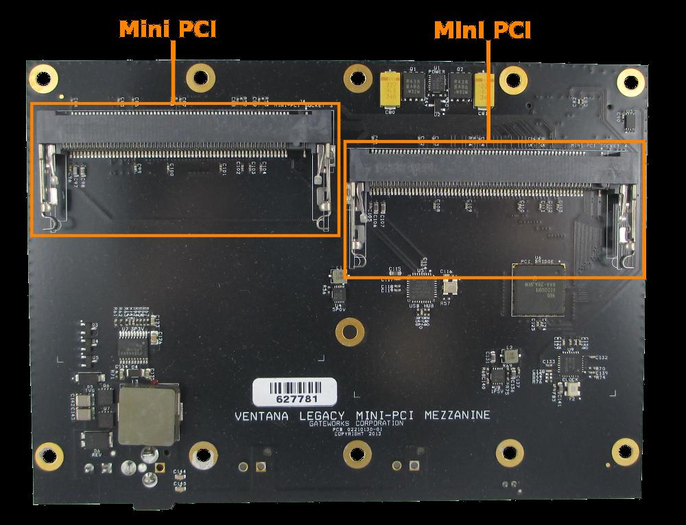 Mini-PCI Expansion Module GW16082