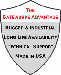 The Gateworks Single Board Computer Advantage: Rugged & Industrial Design, Long-Life Availability, Superior Technical Support, and SBCs Made in the USA.
