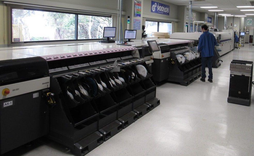 Manufacturing SMT Line