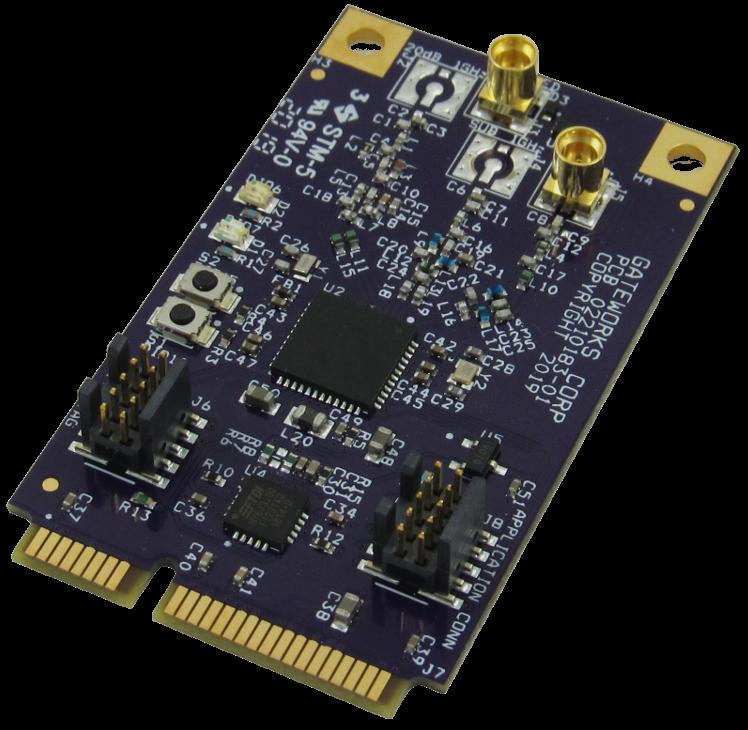 GW16122 Sub-1GHz IoT Mini-PCIe Radio Card