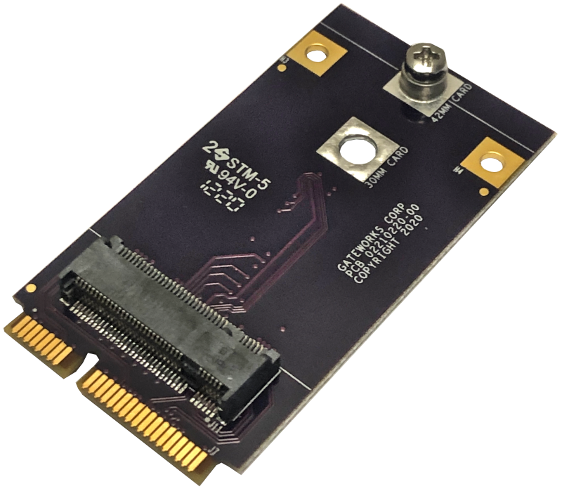 Mini-PCIe to M.2 Adapter