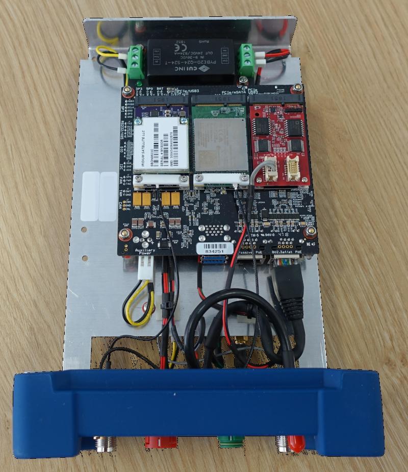 open case GPS receiver